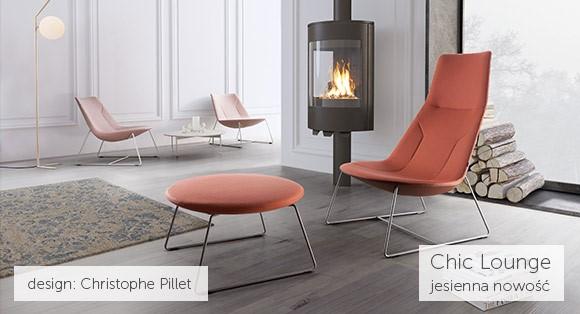 Niezwykła kolekcja foteli soft seatingowych Chic Lounge od Profim